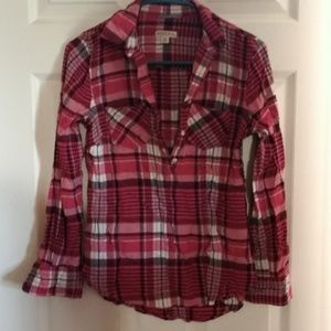 GUC MERONA XS PINK CREAM BLACK FLANNEL